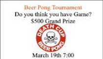 Death Cup Beer Pong