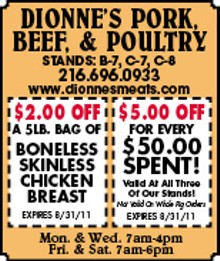 Dionne's Pork, Beef & Poultry