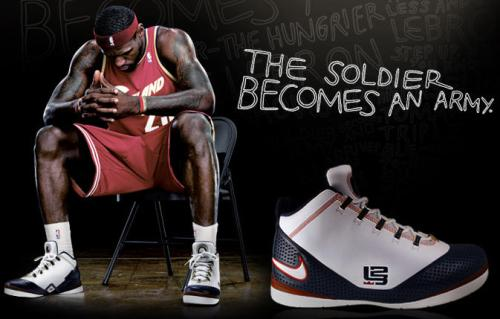 LeBron's Rookie Contract With Nike