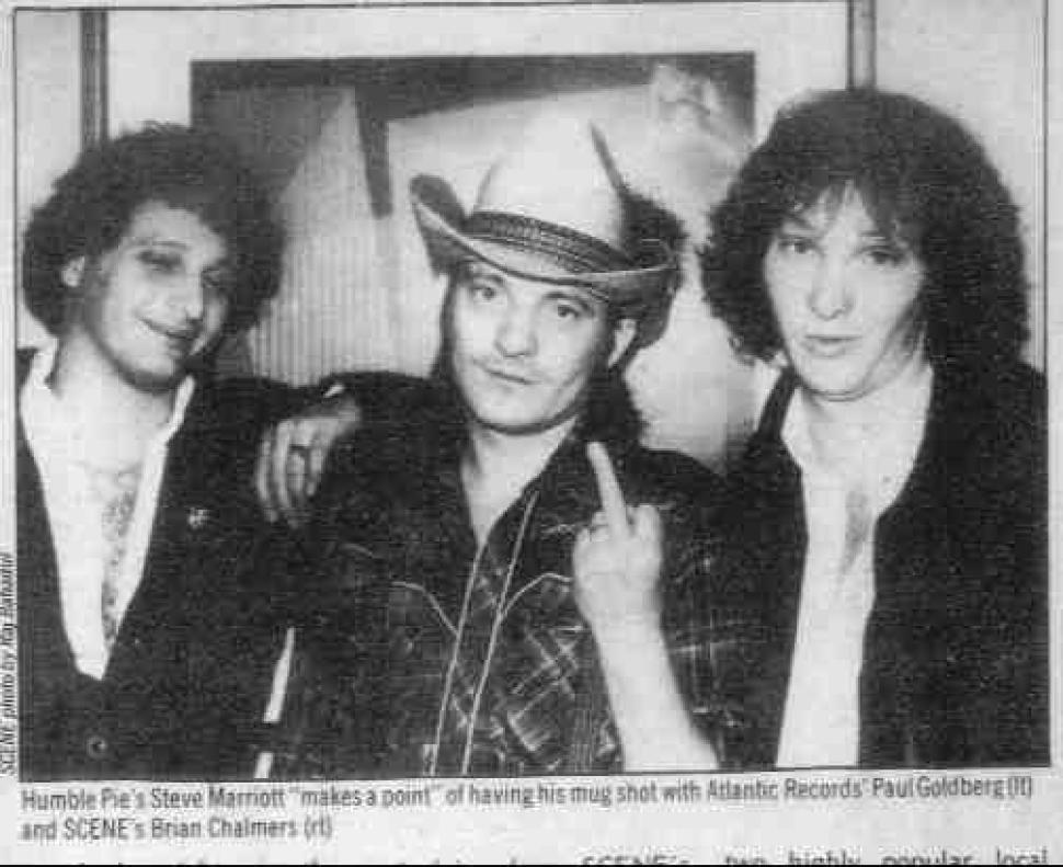 R.I.P. BRIAN CHALMERS, ROCK 'N' ROLL ARTIST   Scene and Heard ...