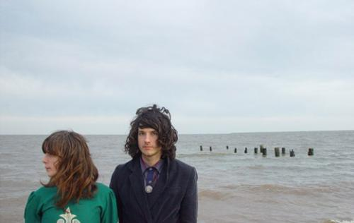 Beach House, showing off the first part of their moniker
