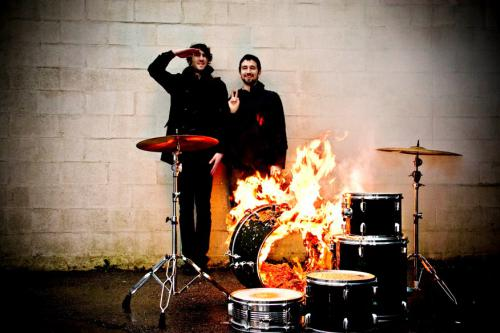 Japandroids, setting shit on fire