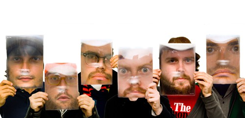 Attack of the bearded big faces!