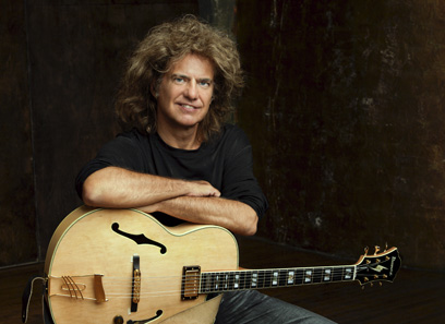 You know what would be really cool? If Pat Metheny played the guitar with his hair