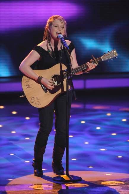 Singing Hang on Sloopy, Ms. Crystal Bowersox...