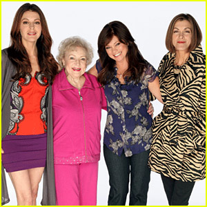 Betty White... and three women who are not Betty White.