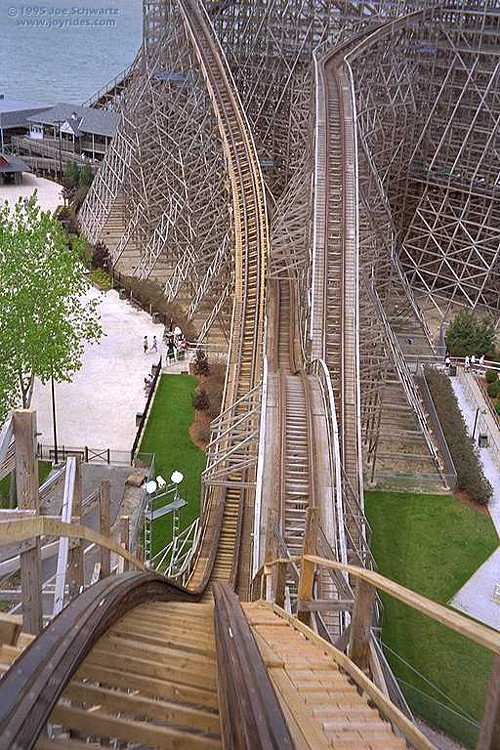 Mean Streak: Still the best ride at Cedar Point.