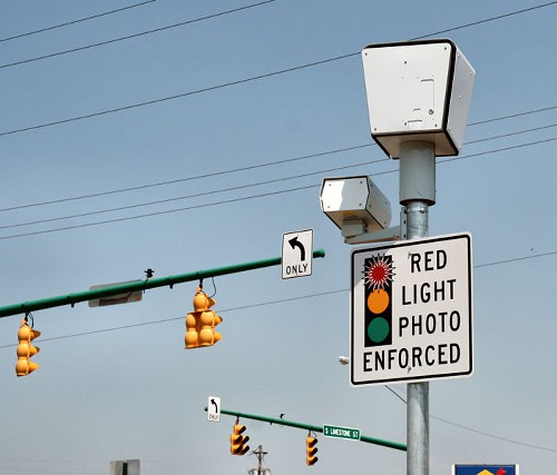 Red light cameras also known as common ground in political parlance.