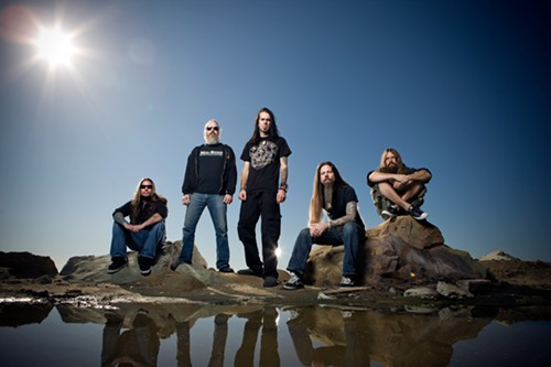 A day at the beach with Lamb of God