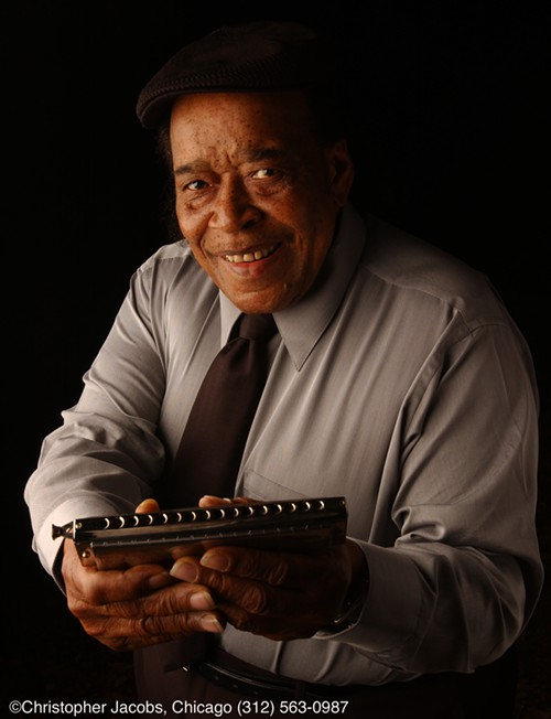 James Cotton wants to show you his mouth organ