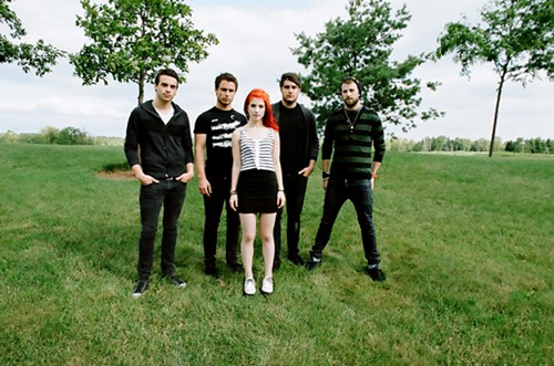 Usually this hole is par four, but with Paramore there it's par seven