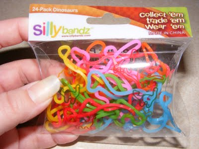 Anybody got the going rate on an ounce of Silly Bandz?