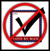 Evidence suggests the public is too dumb to vote by mail.