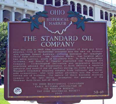 One of Ohios cleaner ties to oil.