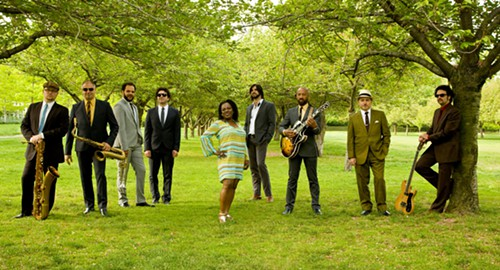 Nature walk reveals a rare sighting of Sharon Jones & the Dap-Kings