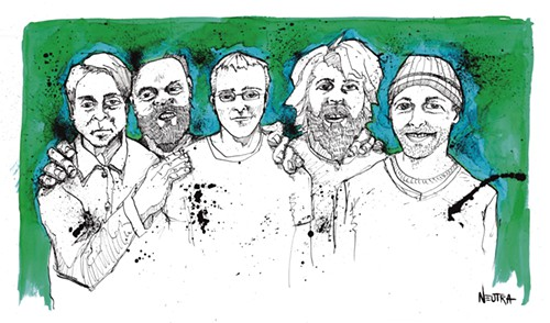 Built to Spill: drawn from life