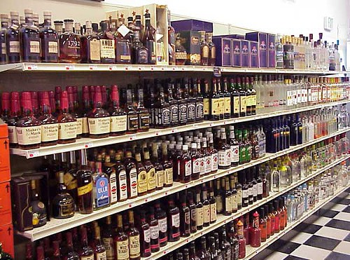 Normal people select one bottle. Ohioans look at the selection and say, Well take it all.