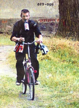 A model bicyclist.
