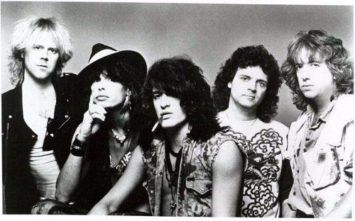 Aerosmith -- back when they could walk without falling over