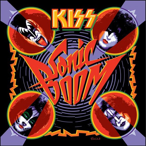 The cover of Kiss latest album. Figured youd want to know what it looks like, since you probably never saw it before