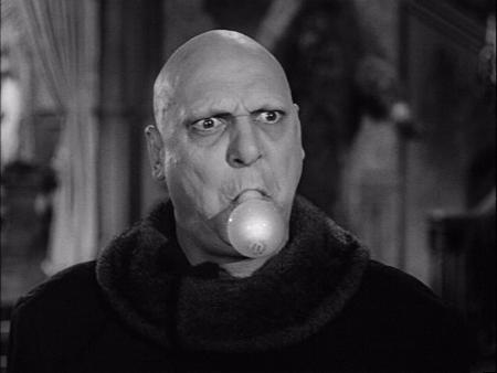 We figured youd rather see a picture of Uncle Fester instead of another one of Elvis