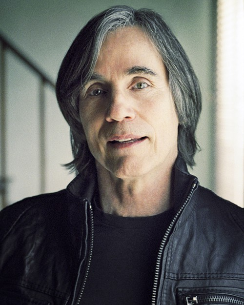 Jackson Browne hasnt aged a day in 35 years. Neither has his hair