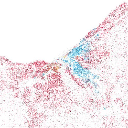 Map: Cleveland's Racial Divide and Makeup | Scene and Heard ... on cleveland city map, ohio msa map, cleveland topographic map, cleveland tx, cleveland land use map, cleveland racial map, king north carolina map, akron ward map, cleveland community map, cleveland georgia map, cleveland ohio ward map, cleveland historical map, cleveland county sheriff logo, cleveland school map, cleveland akron map, cleveland market map, cleveland crime map, missouri research park map, cleveland political map, cleveland state map,