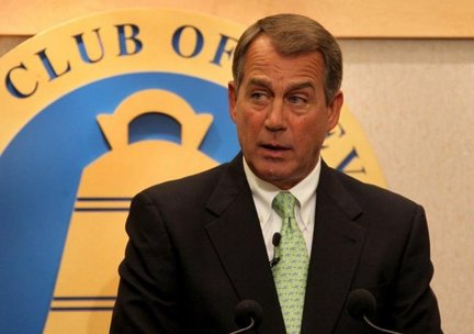 John Boehner brought his tan to the City Club.