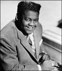 Fats Domino couldnt make it to the Rock Hall bash, but he was there in spirit.