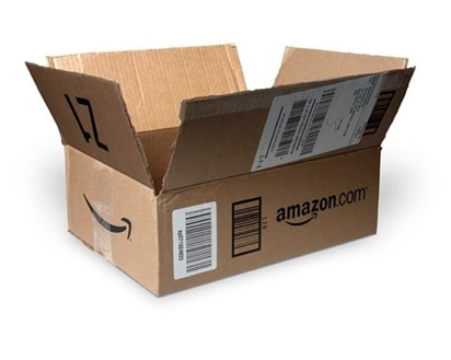 This very clearly says Amazon on the box, which I guess can be suspicious, unless you ordered something from Amazon.