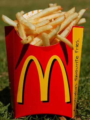 Just give me the fries, and everybody goes home to their families.