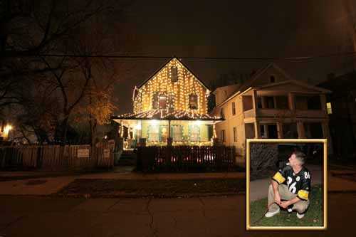 Steelers Fan Gets to Turn on Lights at