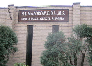 Mazorows office