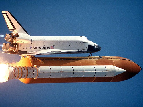 The least we could have landed was a big orange rocket.
