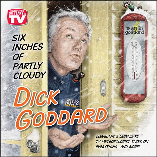 Dick Goddards new book has just been released