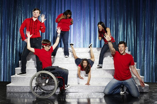 Wild and crazy times from the cast of Glee.