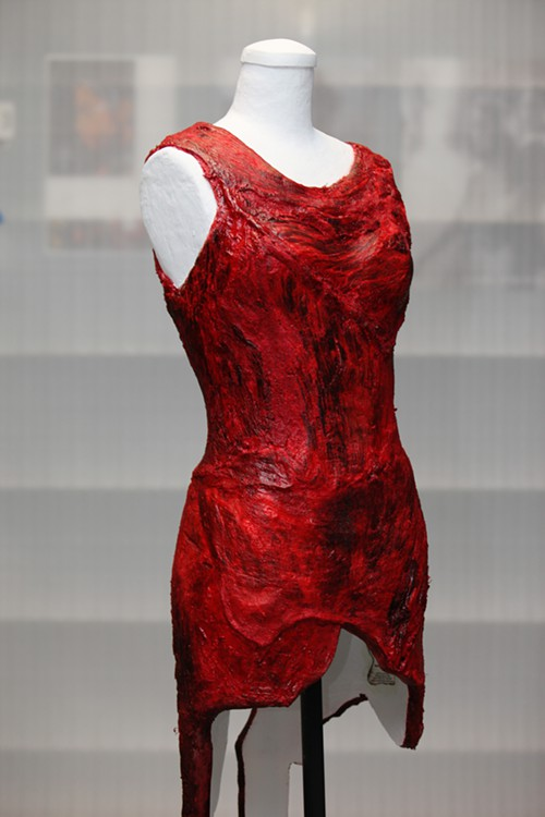 lady gaga meat dresses. hot Lady Gaga Meat Dress: Yummy or lady gaga meat dress pictures.